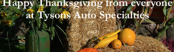 Tysons Auto Spotlight: There's More to Thanksgiving than Turkey and Football